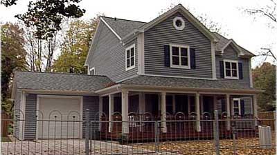 Das amerikanische Landhaus