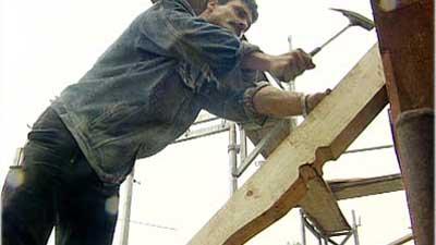 Sanierung Eines Dachstuhls