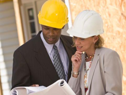 Arbeitsschutz Bau Helm
