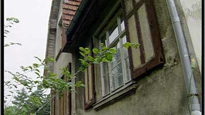 Fenster sanierungsbedürftig
