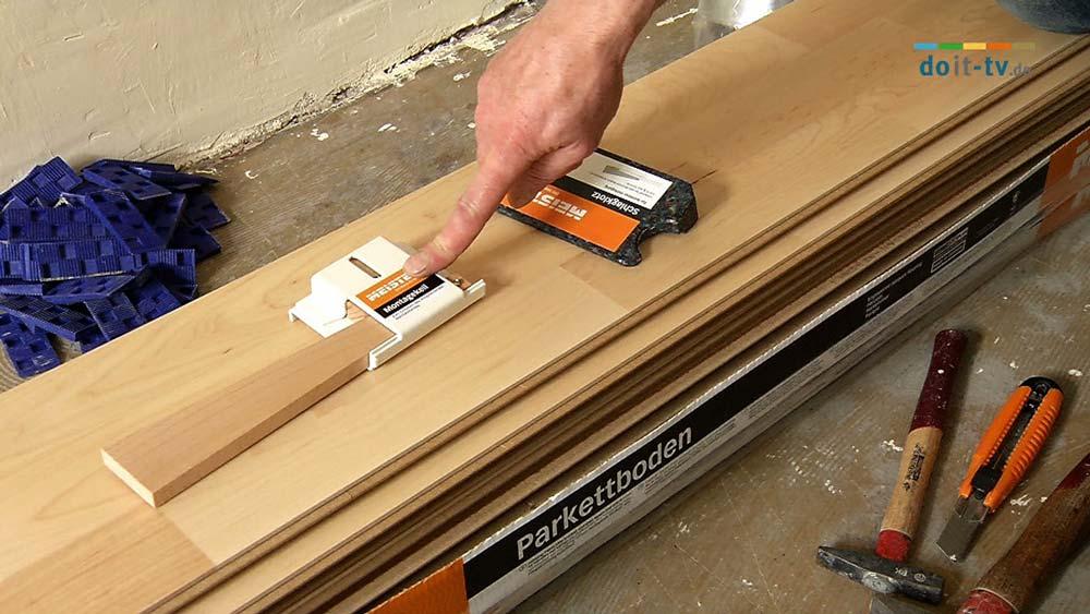Holzparkett 1: Materialauswahl
