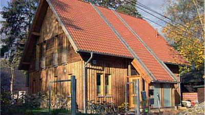Lehmwände In Einem Ökohaus