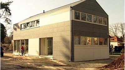 Zementfaserfassade Fürs Design-Haus