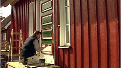 Wetterschutzfarbe Für Die Fassade