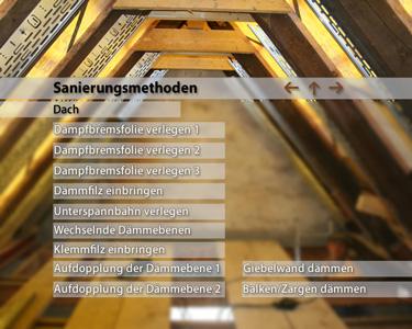 dvd menue dach