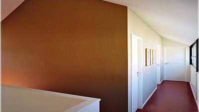 Linoleumfußboden Im Design-Haus